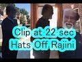 Rajinikanth surprise visit to Neighbour's house in USA