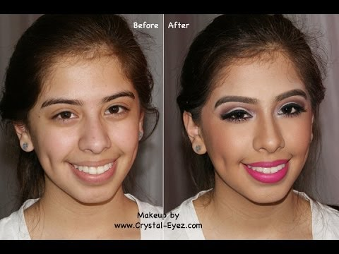 Before & After Makeover - Another Prom Look