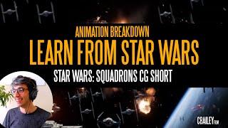 "Star Wars Squadrons ""Hunted"" CG Short Breakdown For Fan Film Makers"