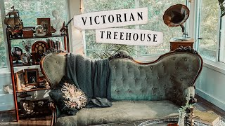 Sunroom Makeover! || Victorian Treehouse/Jungle Room Inspired