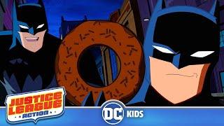 Justice League Action   Funniest Batman Moments!   DC Kids
