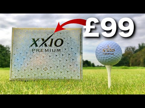 Most EXPENSIVE golf balls I've ever seen (£99/$125)