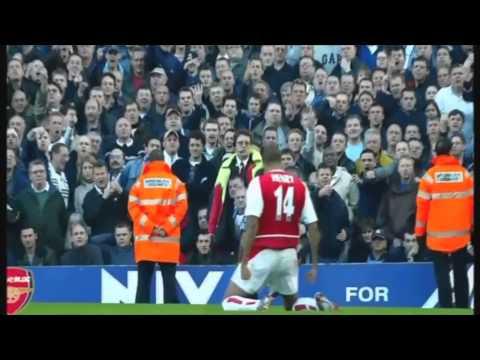 Ngày này 15 năm trước 'King' Henry solo từ sân nhà ghi siêu phẩm trong trận derby Bắc London