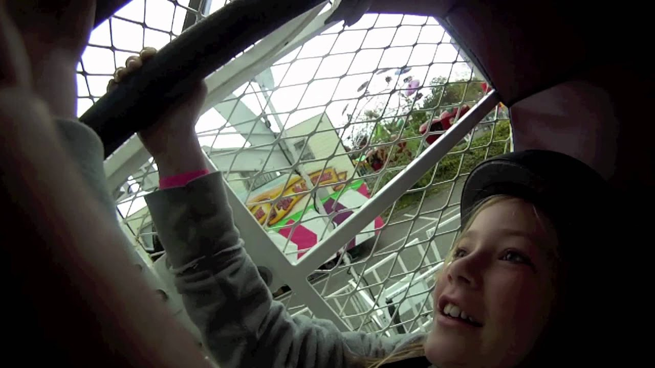 Paul & Alex ride the ZIPPER with a GoPro HD camera! - YouTube