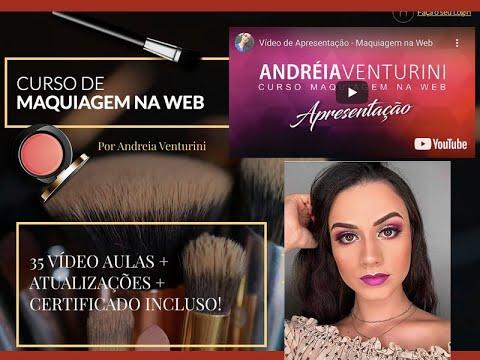 Vídeo de Apresentação Maquiagem na Web - Curso Online