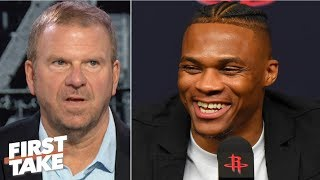 Tilman Fertitta: Time for Westbrook and Harden to step up in the playoffs | First Take