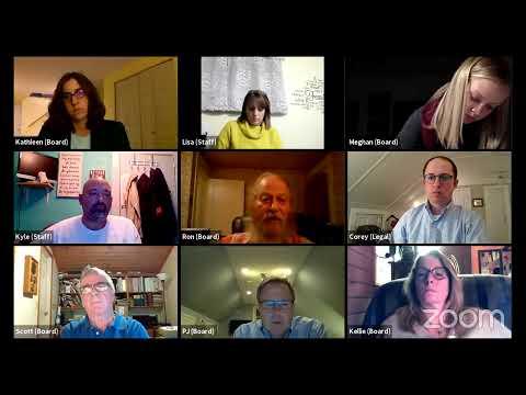 Plattsburgh Zoning Board of Appeals Pre-Meeting  10-19-20