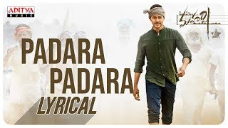 PadaraPadara song from Maharshi - Mahesh Babu..