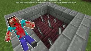 Cách Làm Bẫy Kiếm Giẫm Phát Chết Luôn Trong Minecraft (1 lệnh)