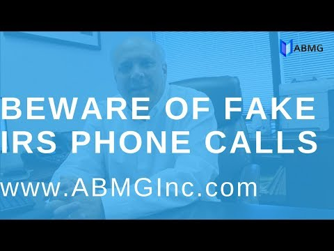 IRS Phone Scams 2017 Los Angeles - Bookkeeping Accounting Firm