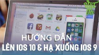 Vật Vờ  Hướng dẫn nâng cấp iOS 10 và hạ xuống iOS 9 không mất dữ liệu