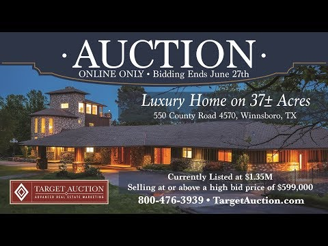 Selling at or above a high bid of $599k. Online auction ends Thursday, June 27th 1:00 p.m. (CT)
