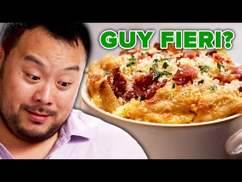 "Can David Chang Guess Which Celebrity Made This Dish"" ? Tasty"