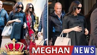 Meghan Fashion -  Meghan Markle: Baby shower, gifts, friends - LATEST details of pregnant Duchess' N