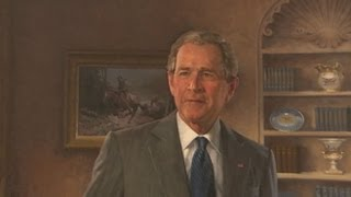 George W. Bush Portrait Unveiled: White House Ceremony With President Obama