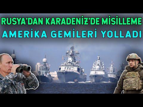 Karadeniz'de Rusya ve NATO Karşı Karşıya!