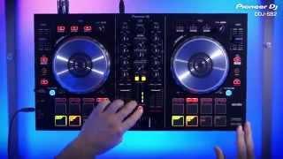 PIONEER DJ DDJ-SB2 SERATO DJ CONTROLLER in action
