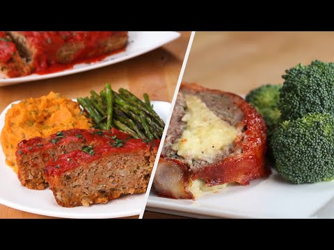 Delicious Meatloaf 4 Ways ? Tasty