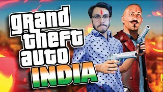 INDIAN GTA  | FUNNIEST ANDROID GAME EVER | BHAI THE GANGSTER | RAWKNEE