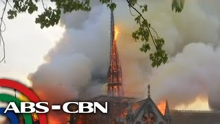 Fire guts Notre-Dame Cathedral in Paris | UKG