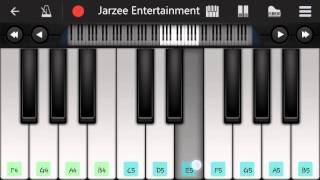 Saare Jahan Se Accha Piano - Mobile Perfect Piano Tutorial