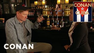 Conan Visits The Havana Club Rum Museum  - CONAN on TBS