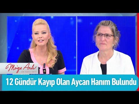 12 gündür kayıp olan Aycan Hanım bulundu! - Müge Anlı İle Tatlı Sert 15 Temmuz 2020