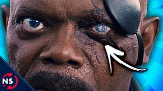 How NICK FURY Lost His Eye (Comics & Captain Marvel Skrull Theory) || NerdSync