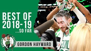 Best Highlights of 2018-19 (so far): Gordon Hayward
