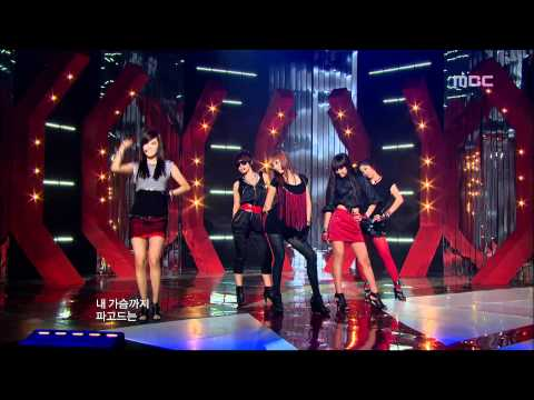 4Minute - MUZIK, 포미닛 - 뮤직, Music Core 20090926