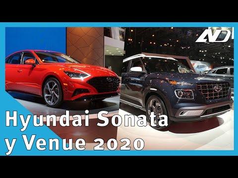 Hyundai Sonata y Venue 2020 - Los queremos ver en México pero se ve poco probable -  #NYIAS2019