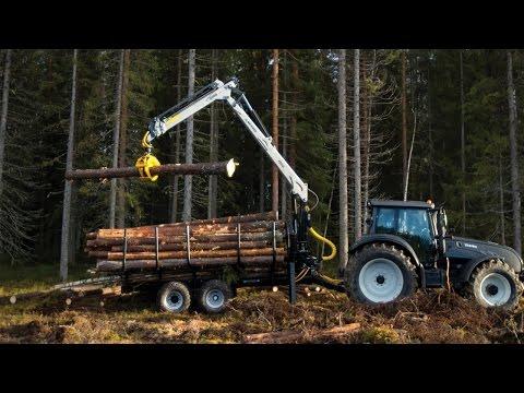 Trejon Multiforest – Skogsvagnar och kranar för en lyckad arbetsdag i skogen