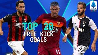 Top 20 Free Kick Goals | Season 2019/20 | Serie A Extra | Serie A TIM