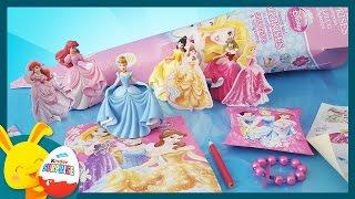 Pochette surprise Princesses Disney -  Cendrillon, Aurore, Belle, Ariel - Titounis