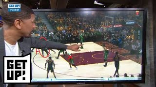Jalen Rose breaks down film of LeBron James picking apart Celtics in Game 3 | Get Up! | ESPN