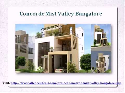 Concorde Mist Valley Bangalore