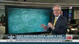 Fact-Checking Papa John's CEO