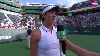 WTA R2 Highlights: Garbine Muguruza vs. Kirsten Flipkens