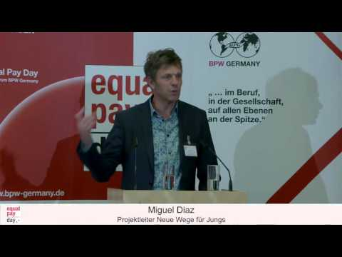 Miguel Diaz | Equal Pay Day Forum am 10.11.2015 in Frankfurt am Main