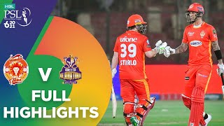 Full Highlights   Islamabad United vs Quetta Gladiators   Match 12   HBL PSL 6   MG2T