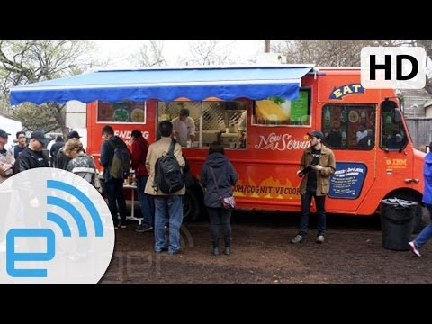 Cookin' with Watson | Engadget at SXSW 2014