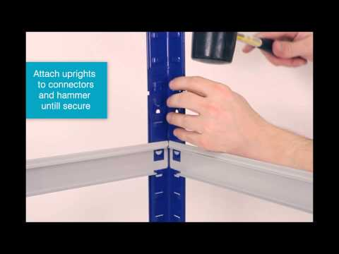 Assembly Instructions: Click Together 175 Shelving