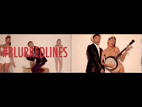 Baixar Blurred Line #Thicke comparaison : unrated vs censured