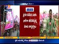 Khammam TRS leaders already begin journey to Pragathi Nivedana Sabha