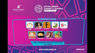I was Nominated for SOCIAL MEDIA&SUMMIT AWARDS 2018[Foodvedam]||Feeling Very Happy