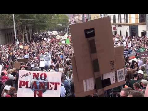 Thumbnail for Melbourne #MarchInMarch Street Party Protest