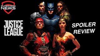 Justice League Spoiler Review