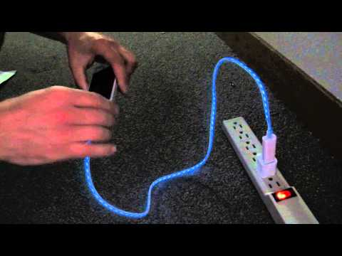 8 pin Lightning Cable with light - How it works
