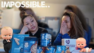 EATING ONLY BABY FOOD FOR 24 HOURS!!! (IMPOSSIBLE)