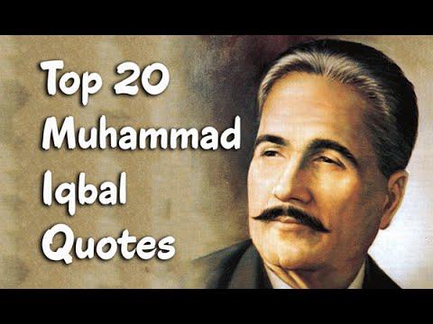 Top 20 Muhammad Iqbal Quotes || The Poet, Philosopher, & Politician